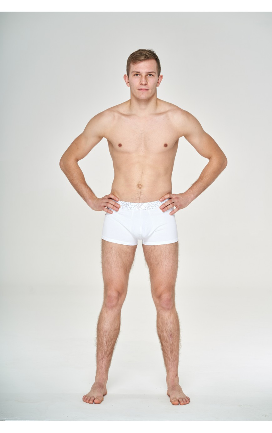 Men's short boxer (White)