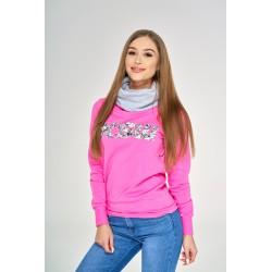 Bluza różowa FLOWER POWER