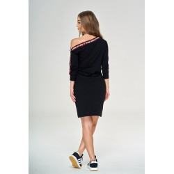 Sukienka czarna KSW
