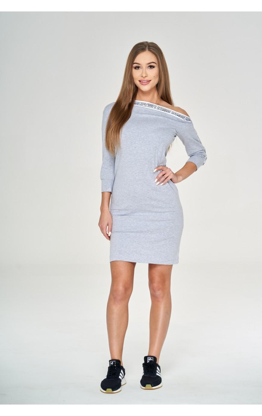 Sukienka KSW GREY