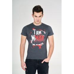T-shirt Grafitowy I am MMAN