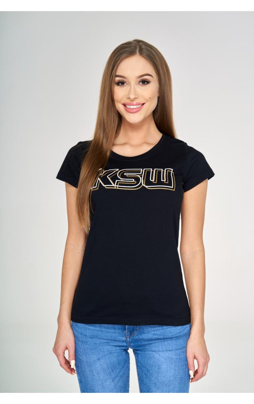 T-shirt czarny KSW Basic